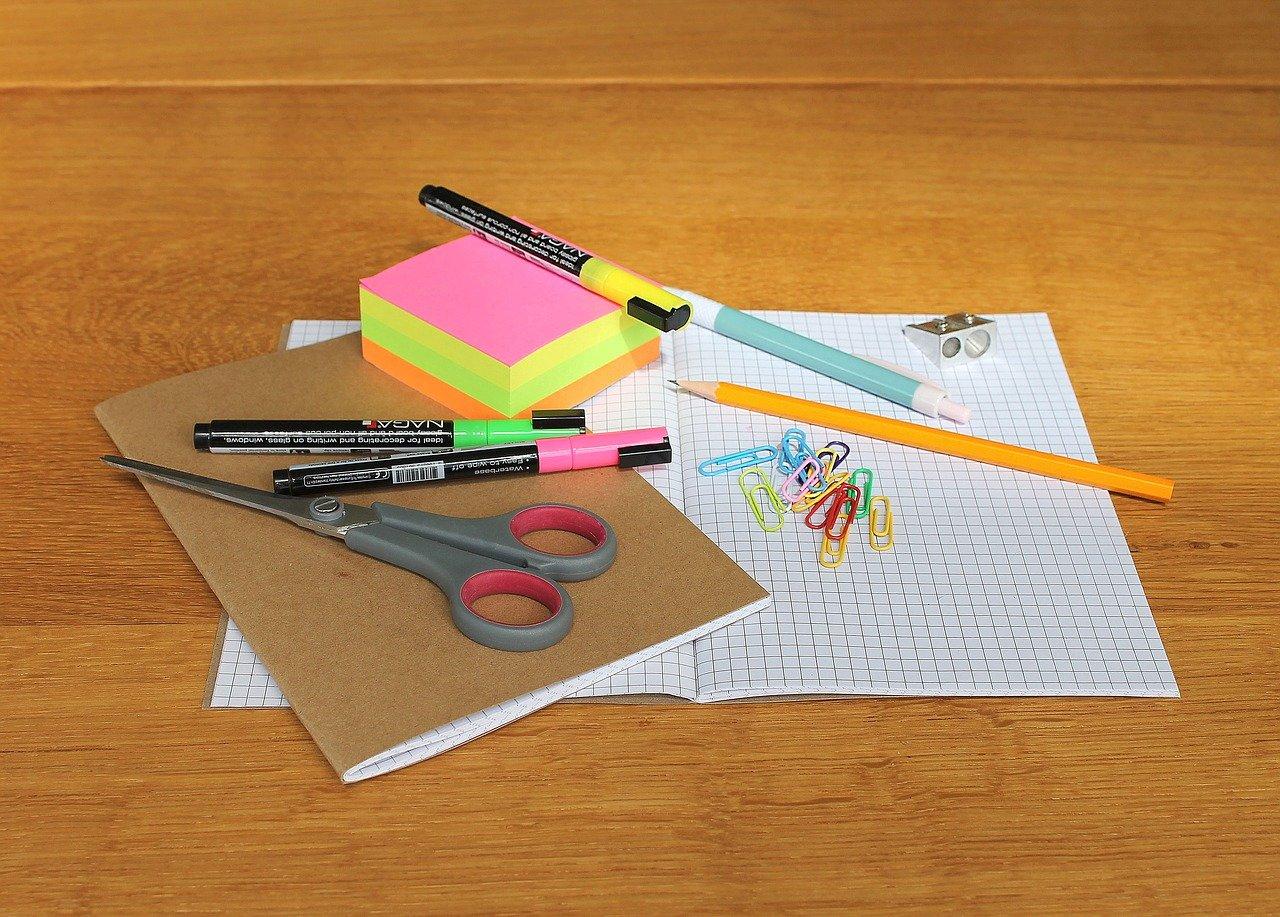 Materiallisten für das neue Schuljahr